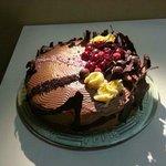 La tarta del escaparate