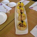 Eel Banana tempura