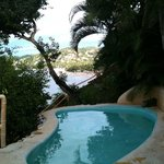 Private pool and view of Sayulita