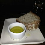 "acme bread & olive oil ""upon request""- see bottom of menu"