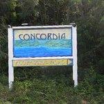 Concordia Eco Resort Sign