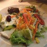 einfallsreicher salat: ein highlight