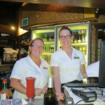 Jeni and Claire make you so welcome at the Barefoot Bar