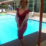 the last day, august 6, 2012 me dressed as marilyn monroe