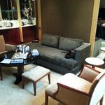 Living room of the Executive Suite