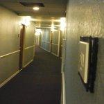 Sixth floor hallway