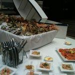 Buffet du dimanche : le coin des fruits de mer