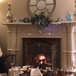 Afternoon tea by the fire and in the Lounge