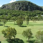 Mt Coolum Golf Club - views of the Rock from the course