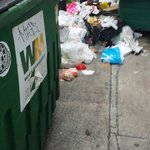More trash outside my window