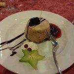 Lo splendido e ottimo dessert del cenone di san silvestro