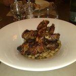 Casentino Grey Pork Ribs on Beans