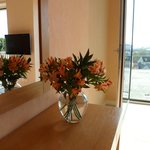 Complementary flowers for 25th Wedding Anniversary