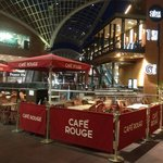 Cafe Rouge Cabot Circus terrace