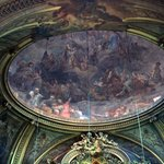 Ceiling fresco at St. Sulpice