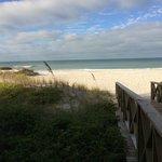 Access spot to the beach