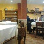 Comedor del restaurante El Pradillo.