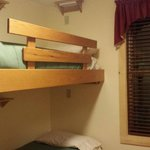 private 2 bed bunk room, shared bath