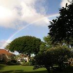 Plantation Gardens with rainbow