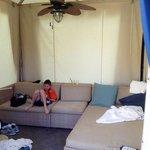 free upgrade to a cabana!  thx Alexis!