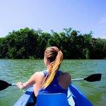 Kayaking on the Rio Dulce