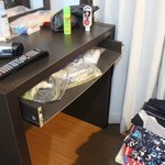 Dressing table drawer face missing!