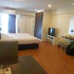 Zimmer 7.Etage Nr.709 super sauber Flachbild DVD