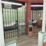 The jail cells in Mayberry Courthouse