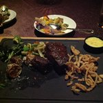 Wagyu steak at Angle restaurant- not as goodasit looks