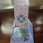 Clean TV Remote Control