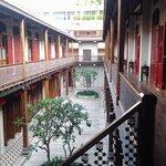 stunning courtyard
