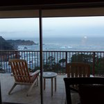 Balcony with Pacific Ocean view