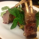 Rack of Lamb one of the choices on the menu sometimes