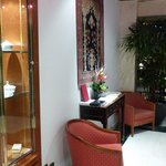 Hotel La Perle  - Lobby area