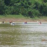 Kayacking...