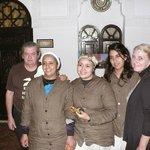 Gilles, Fatiha, Soumia, Sanaa et Dominique