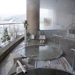 bains chauds en exterieur, un régal!