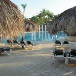 Uma das vária piscinas