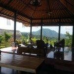 notre terrasse salon ouvert