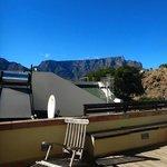 Dachterrasse - Blick zum Tafelberg