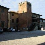 Vista dal piazzale del Castello