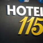 Hotel 115 at 115 Worcester Street: simple name but very clear