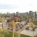 Spacious resort