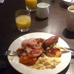 A very good breakfast