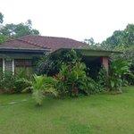 Outside view, Kandyan Manor