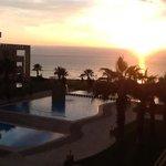 sunset veiw from suite 209-1