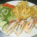 shamrocks club sandwich