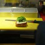 preparazione panino