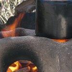 fogones de leña para cocinar con sabor a humo