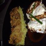 Bar de ligne, artichoked risotto